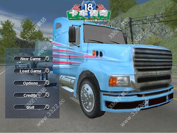 18轮大卡车:穿越美国
